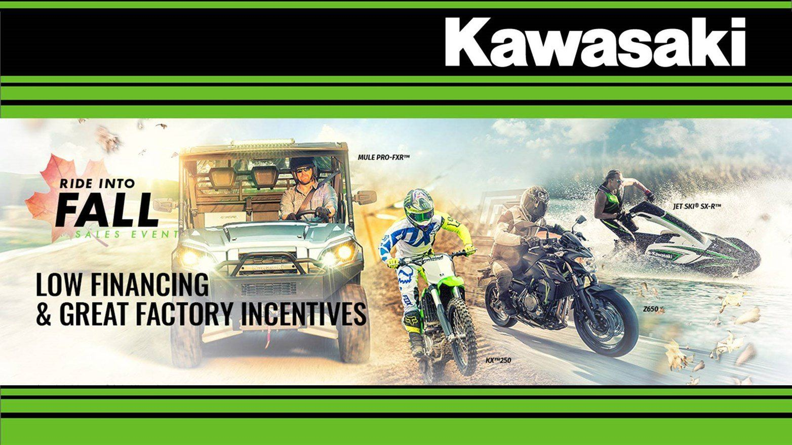 Kawasaki - Ride Into Fall Sales Event