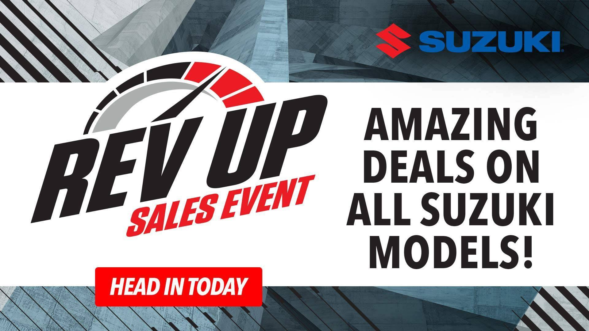 Suzuki - Rev Up Sales Event