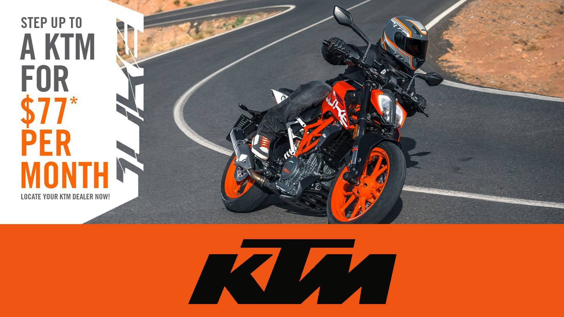 KTM - Step Up To A KTM